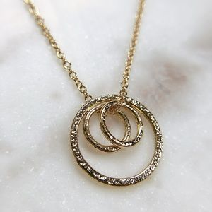 Jewelry - Counting My Blessings Gold Necklace